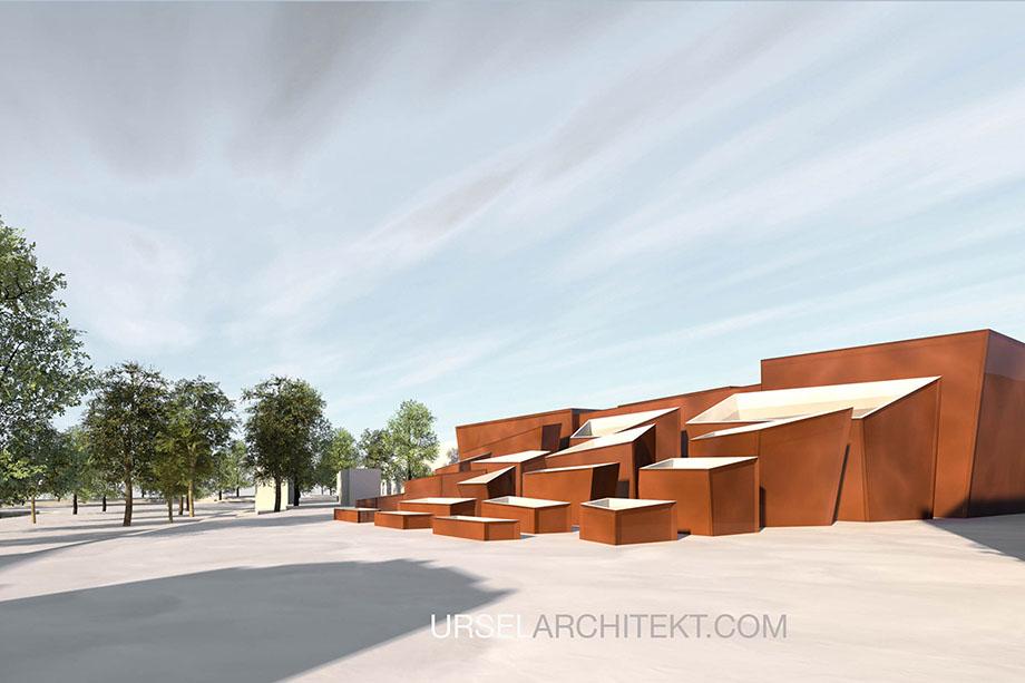 ursel architekt bauhaus museum weimar. Black Bedroom Furniture Sets. Home Design Ideas