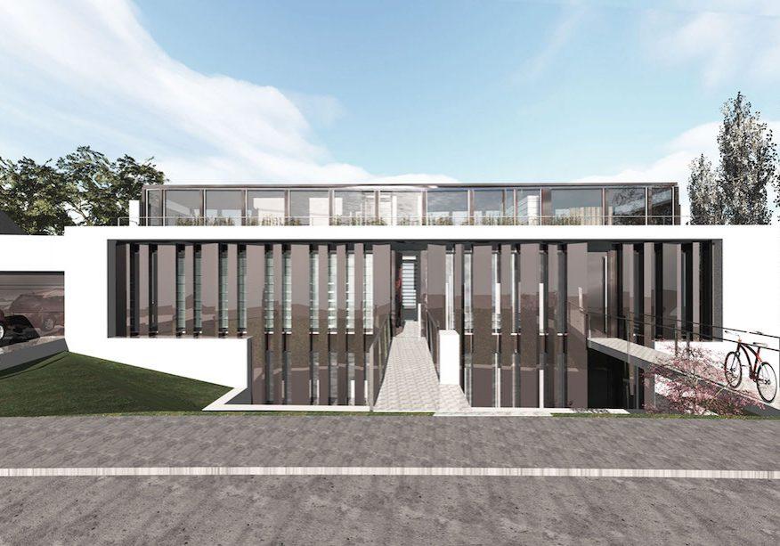 Entwurf Galeriewohnhaus
